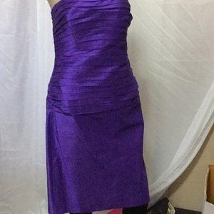 Ralph Lauren Purple cocktail dress